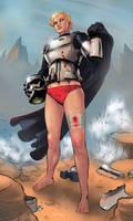 Captain Phasma Battle Wounds by KaRolding