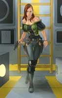 Jaedra (Commissioin) by KaRolding