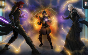 Vindiss vs Kaijaa and Rhenn by KaRolding