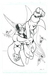 Space Ghost Ink by mr-ss