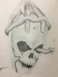 HandSkull by mr-ss