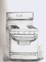 Sketchbook Stove by Jesness