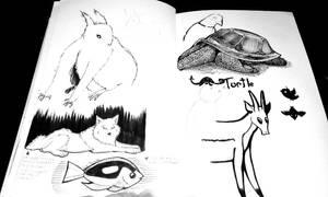 Sketchbook #4 by Jesness