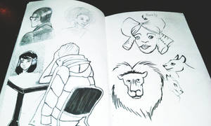 Sketchbook #5 by Jesness