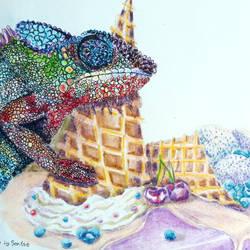 Chameleon by fomhar-orga