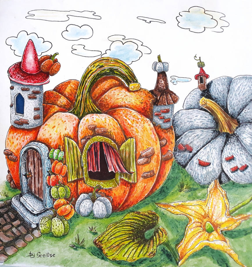 About Pumpkin  Spirits, Rainy God ets by fomhar-orga