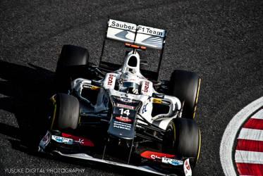 Sauber F1 by YusukeDigitalDesign