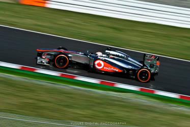 McLaren Mercedes F1 at Suzuka by YusukeDigitalDesign