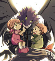 Ai and Mako by mintgao
