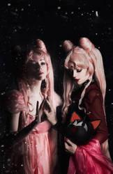 Princess Lady Serenity / Black Lady by Kamiko-Zero
