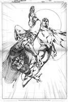 SUPERMAN 703, PAGE 02 by eddybarrows