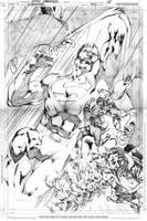 SUPERMAN 703, PAGE 18 by eddybarrows
