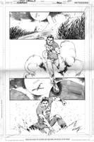 SUPERBOY, PAGE 3 by eddybarrows