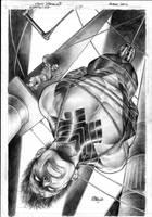 Nightwing 7 Cover by eddybarrows
