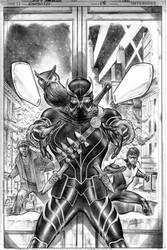 Nightwing 8 Cover by eddybarrows