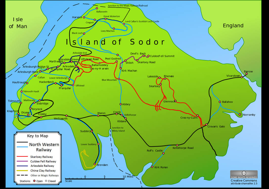 Image result for Arlesburgh Sodor map
