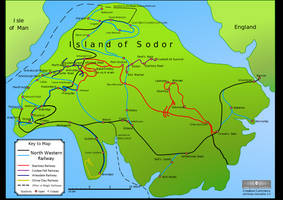 Island of Sodor - Present Day map by PeachLover94