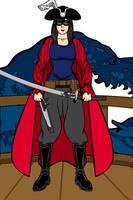 Lena Scarlett the Crimson Katana by PeachLover94