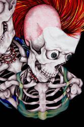 Punk's Not Dead Detail II by styrofoam-SKELLETON