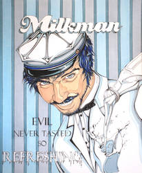 The Milkman by styrofoam-SKELLETON