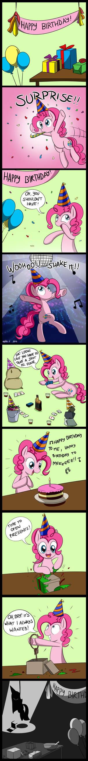 Happy Birthday to me! by McSadat