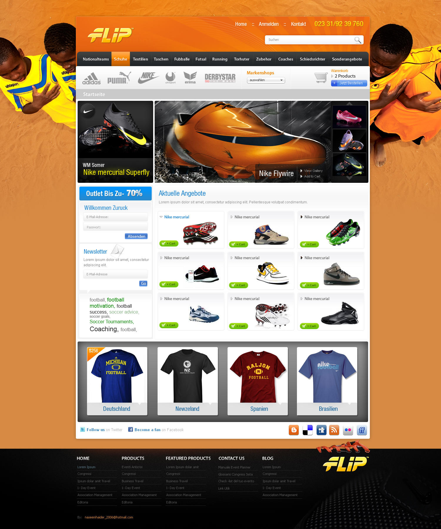 An Ecommerce Store by naseemhaider