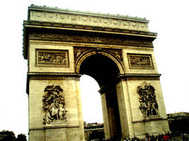 Arc De Triomphe by Sunlandictwin