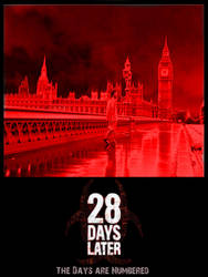 28 Days Later Poster by Sunlandictwin