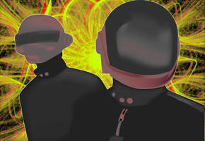 Daft Punk by Sunlandictwin
