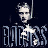 BADASS  - John Watson by Sunlandictwin