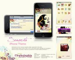 Senorita Iphone Theme by chykalophia