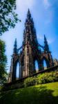 Scott Monument, Edinburgh by xkixk