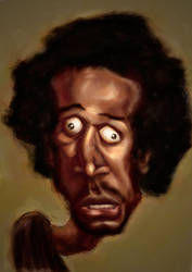 Marlon Wayans Caricature by burnt8bit