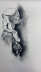 daenerys targaryen by sketchdoll07