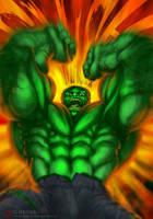 Hulk, the Incredible by ogi-g