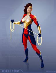 Wonder Woman - OG DC remix by ogi-g