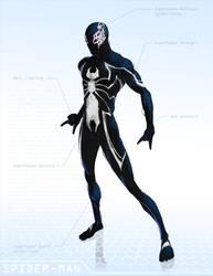 Spider-Man Black - OG Marvel remix DB by ogi-g