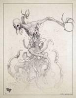 Monster sketch by ogi-g