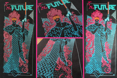 Neon Lady by Zeephra
