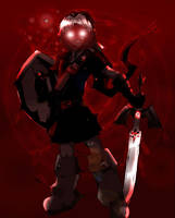 Link's darkness by Ajax098