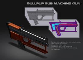 Bullpup SMG by DyanerisNc