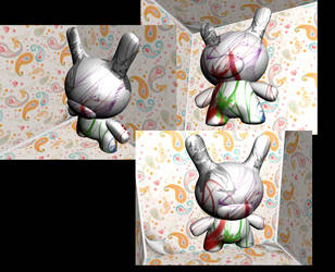 abstract buny by 68clifton