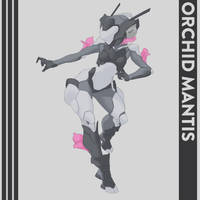 Orchid Mantis by Shady-Rogue
