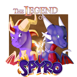The Legend of Spyro by Bro-chaan