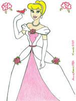 Princess Cinderella by AnneMarie1986