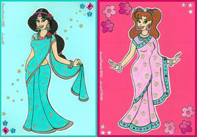 Bollywood Princesses by AnneMarie1986