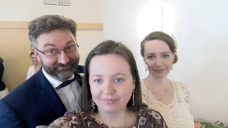 Wedding Selfie by AnneMarie1986