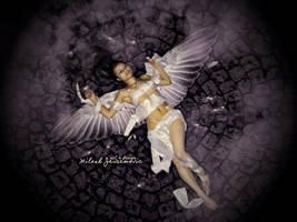 Sleeping Angel by MiloshJevremovic