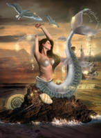 Mermaid by MiloshJevremovic