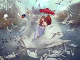 Prince of Swans by MiloshJevremovic